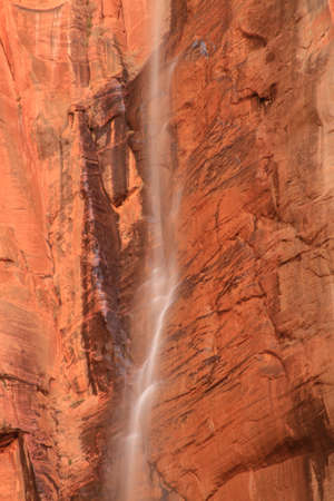 delicate cascade at zion national park Stockfoto