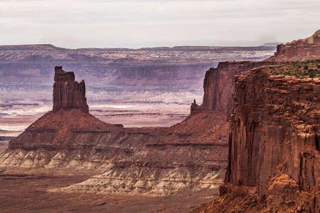 canyons rare formations at canyonlands national park