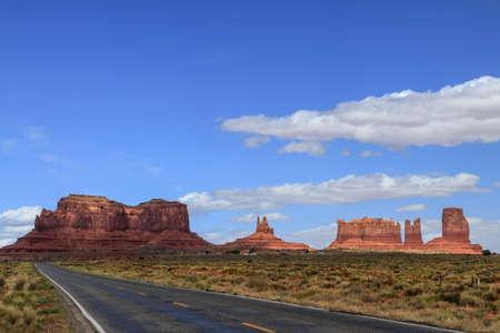 rare mountains near monument valley arizona