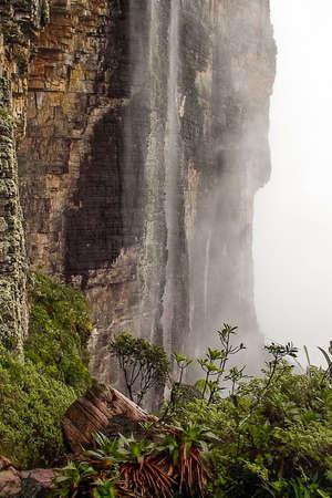 The passage of tears, Mount Roraima, La Gran Sabana, Venezuela
