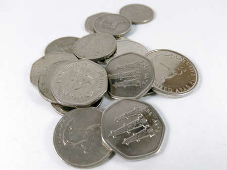 Money Coins United Arab Emirates