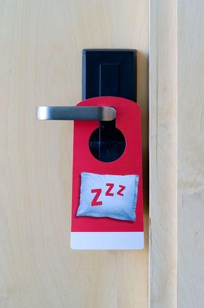 Please do not disturb hotel tag photo