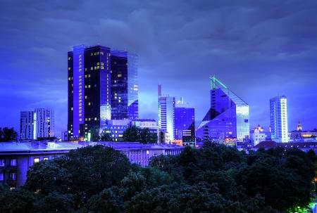 Panoramic view of Tallinn city