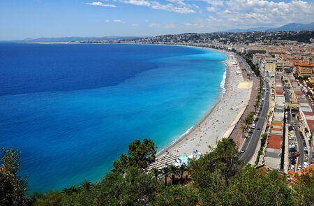 Coastline of Nica, France photo