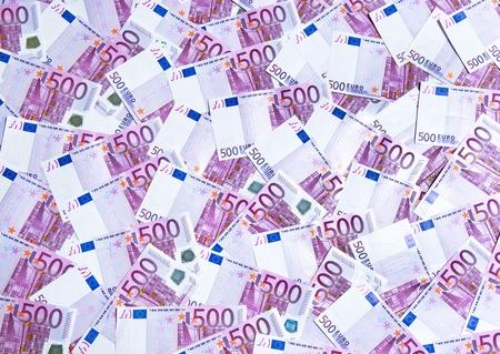 500 Euro Banknotes photo