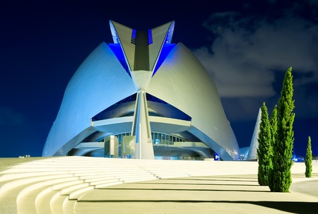 The City of Arts and Sciences Valencia, Spain, September 26, 2011