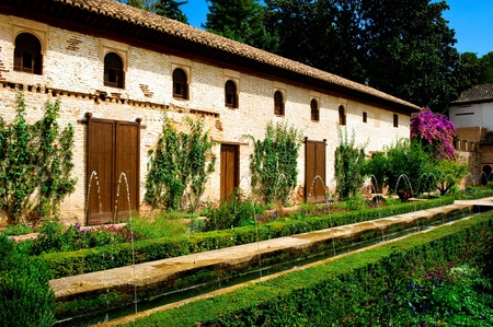 andalusia: Alhambra palace in Granada, Spain