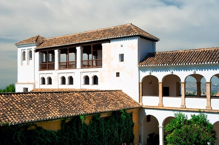 Granada, Spain, September 28, 2011: Alhambra palace in Granada, Spain Stock Photo - 10958258