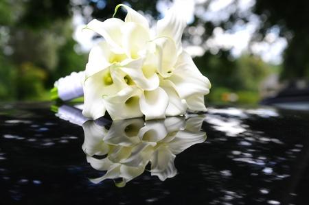 bridal bouquet: Beautiful calla lilies bouquet