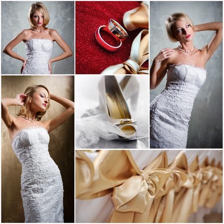 Wedding collage Stock Photo - 12011322