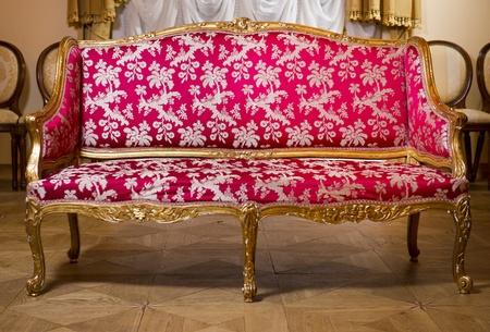 Vintage sofa Stock Photo - 12407384