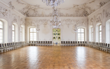 Great Hall Ballroom in Rundale Palace, Latvia Stock Photo - 13244118