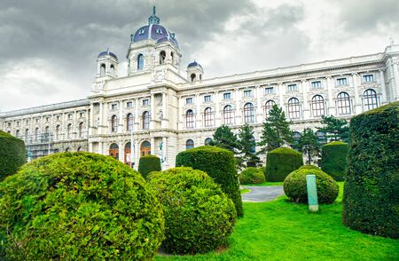 topiary: Museum of Art History  The Kunsthistorisches Museum ,  Vienna Editorial