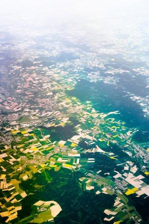 View of the World Through Airplane Windows  Stock Photo - 13716241