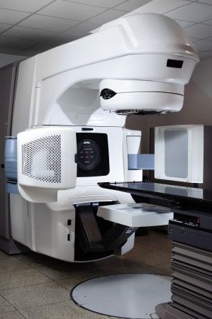 the equipment: Acelerador Lineal en el hospital