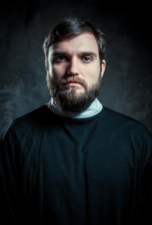 sacerdote: Retrato de un sacerdote Foto de archivo