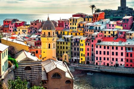 vernazza: View of Vernazza. Vernazza is a town and comune located in the province of La Spezia, Liguria, northwestern Italy.
