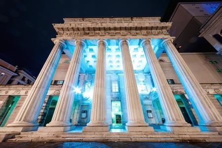 The Teatro Carlo Felice, opera house of Genoa, Italy, Stock Photo - 17913698
