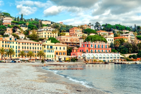 Santa Margherita Ligure. Genoa, Italy photo