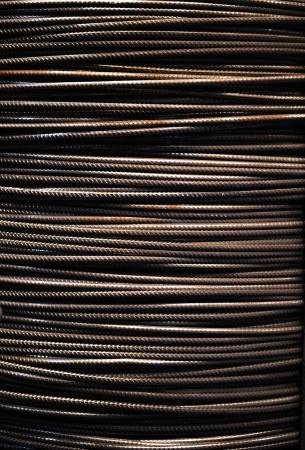 steel wire: Steel wire rope background