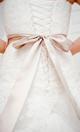 corsetto: Abito da sposa dettaglio