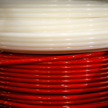 electrical wire: Background of electrical wires coil Stock Photo