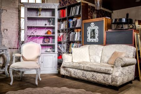 muebles antiguos: Interior lujoso de la vendimia de sal�n