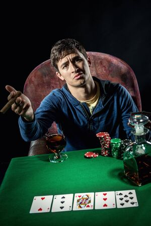Giocatore di poker photo