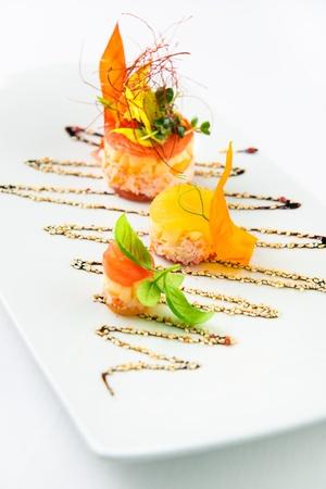 starter: Seafood salad