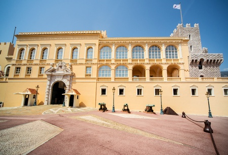 Princes Palace of Monaco  Official residence of the Prince of Monaco  Stock Photo - 21714498