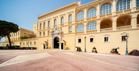 Princes Palace of Monaco  Official residence of the Prince of Monaco  Stock Photo - 21714499