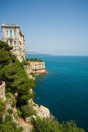 Oceanographic Museum, Monaco Stock Photo - 21714502