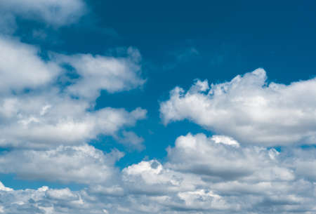 fleecy: Background of blue sky and clouds
