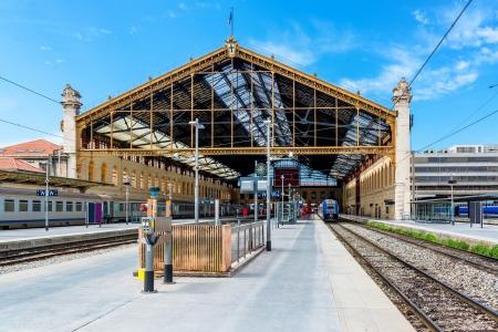st charles: Marseille St. Charles railway station, France