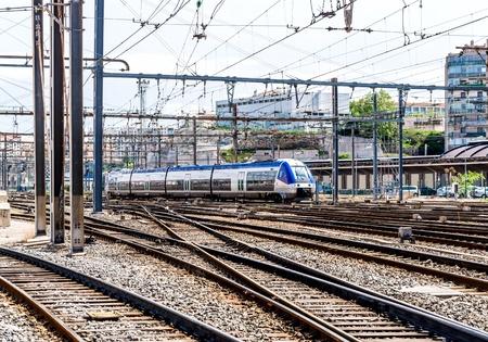 st charles: Stazione ferroviaria di Marsiglia St. Charles, Francia