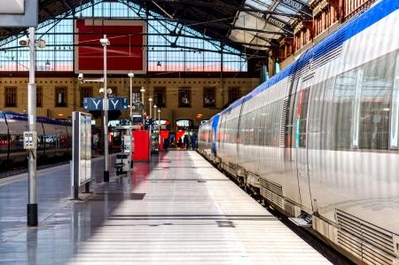 st charles: Marsiglia stazione ferroviaria di St. Charles, Francia Editoriali