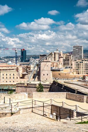 View of Fort Saint Nicholas in Marseille, France Stock Photo - 21967517
