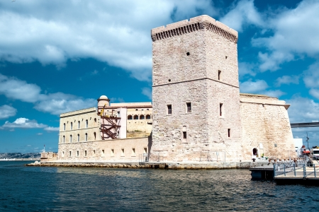 View of Fort Saint Nicholas in Marseille, France Stock Photo - 21844465