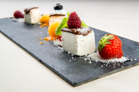 panna: Luscious Panna Cotta dessert