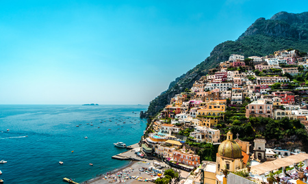 Amazing Amalfi coast  Positano, Italy photo