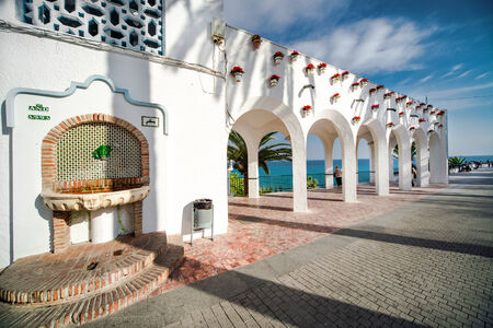 andalusia: Architectural feature  Balcon de Europa  Nerja, Spain