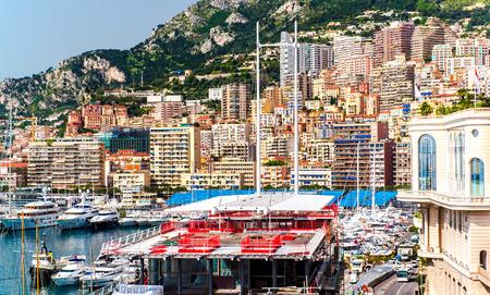 Principality of Monaco  Preparation for Monaco Formula 1 Grand Prix