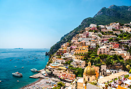 Picturesque Amalfi coast  Positano, Italy