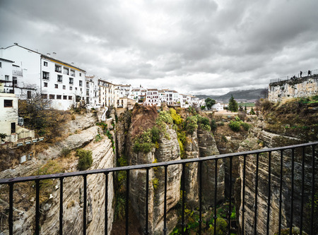 andalusia: Picturesque view of Ronda city  Province of Malaga, Andalusia, Spain