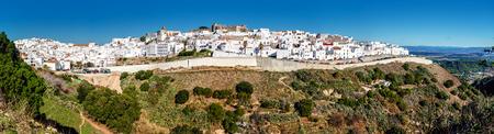 cadiz: Panorama of Vejer de la Frontera  Costa de la Luz, Spain
