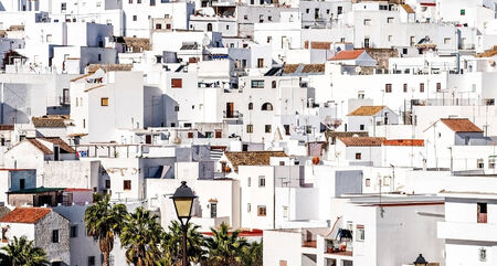 cadiz: Vejer de la Frontera rooftops  Costa de la Luz, Spain