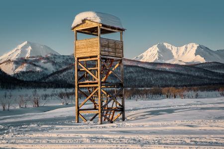 snowbanks: Nalychevo Nature Park  Far East, Kamchatka  Russia