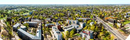 Pardaugava  Panoramic view of Riga city neighbourhood  Latvia photo