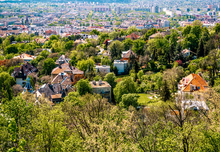 Budapest city in spring  Hungary photo