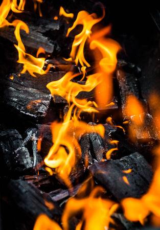 coals: Fire and coals